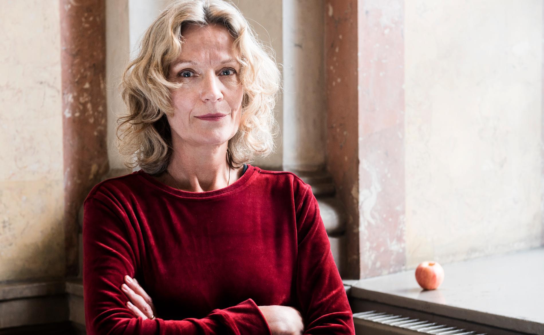 """Åsa Wikforss, författare till boken """"Alternativa fakta""""."""
