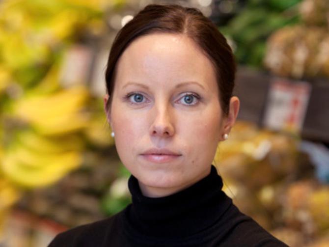 Elin Jarl,  ansvarig för extern kommunikation, Hemköp.