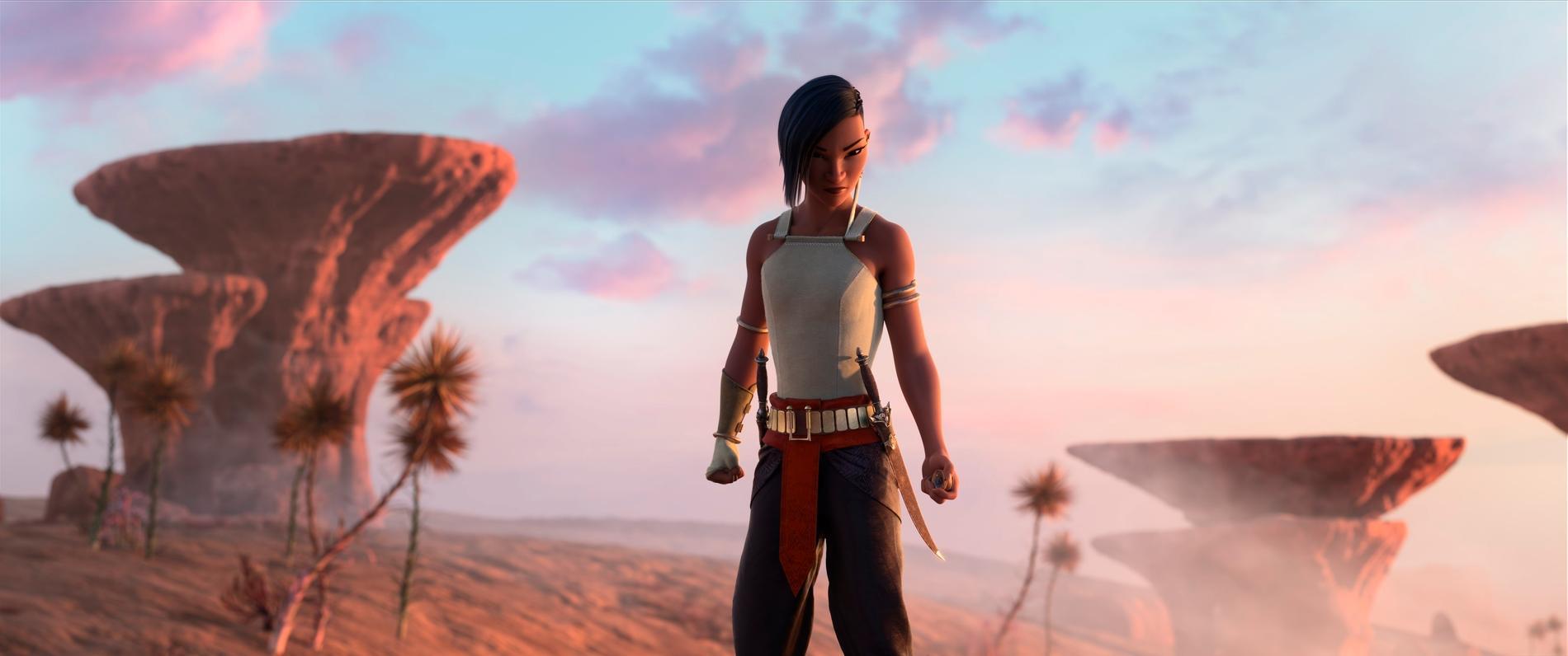 """Disneyfilmen """"Raya och den sista draken"""" har nyligen haft premiär även på Disney plus. Arkivbild."""