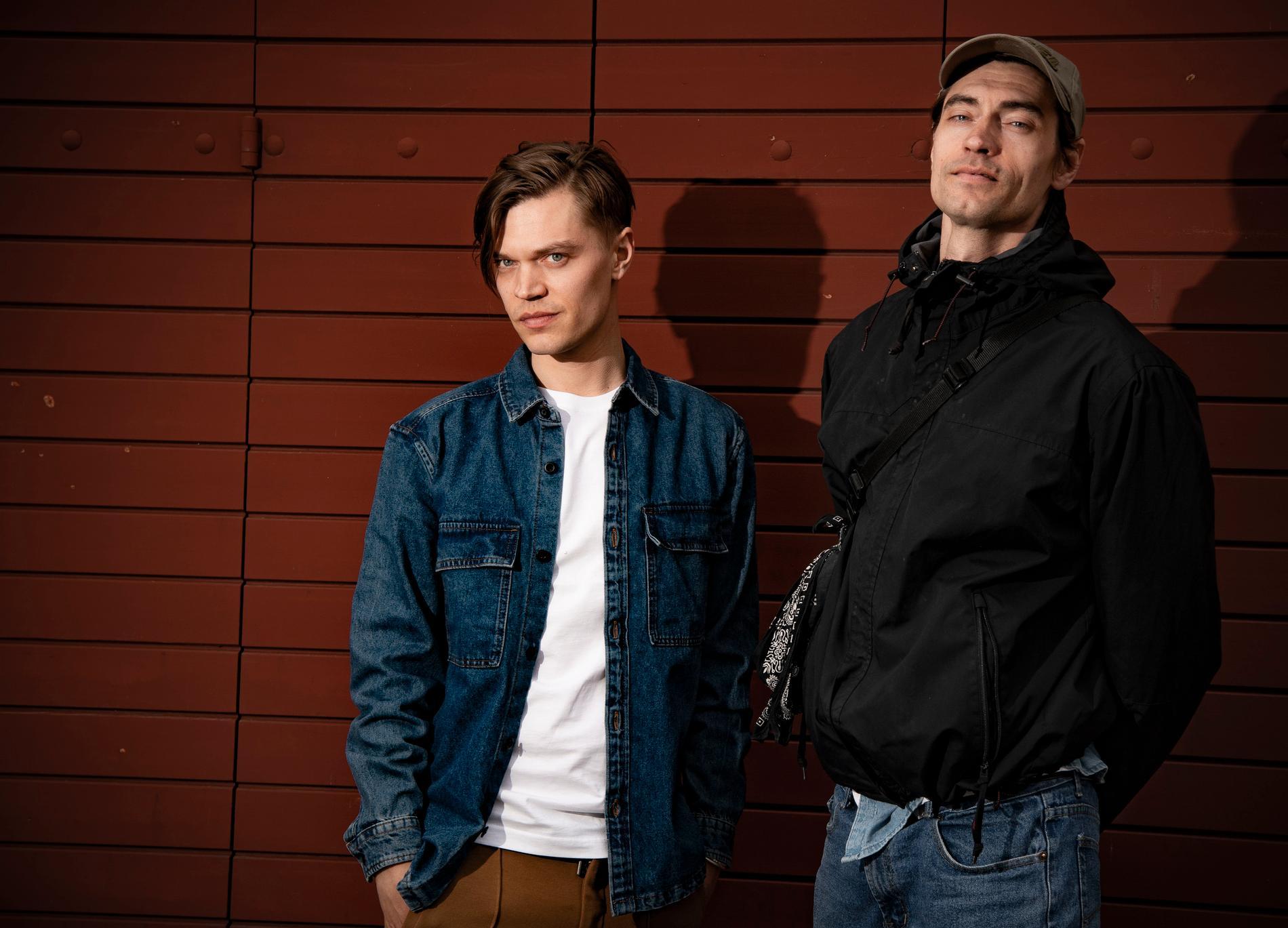 Viktor och Gustaf Norén.
