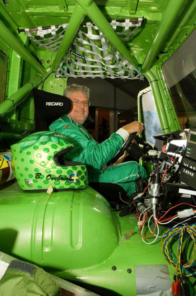 Boije Ovebrink ska ratta det gröna monstret.