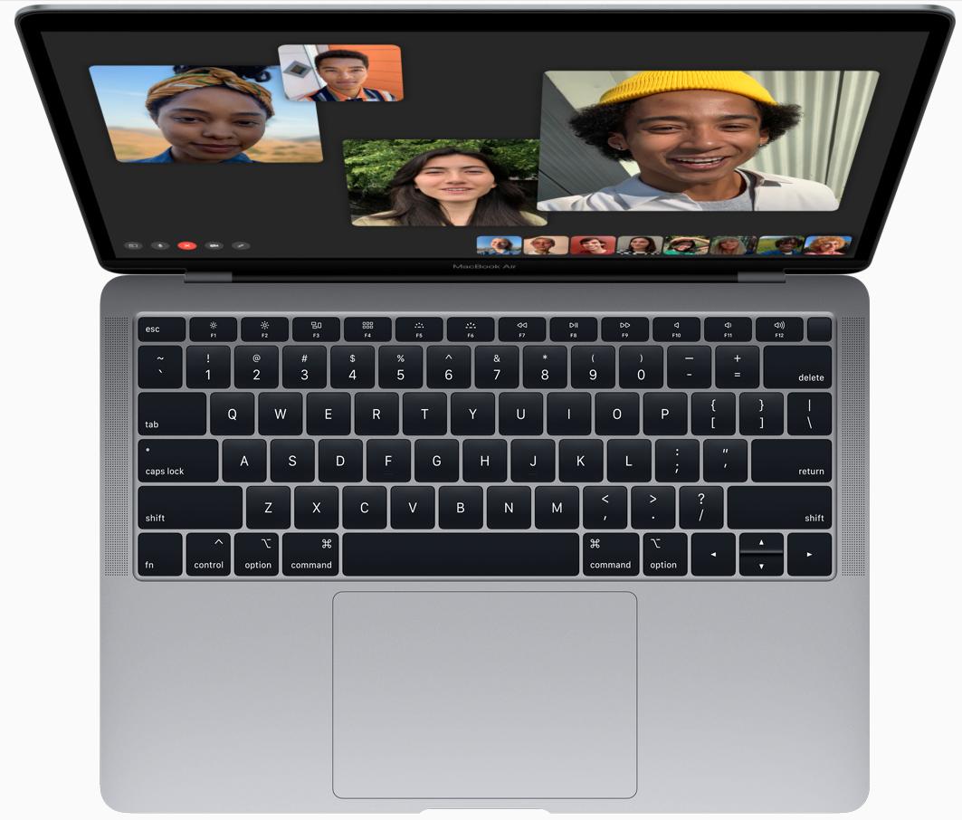 Nya Macbook Air kommer i färgerna space gray, gold och silver.