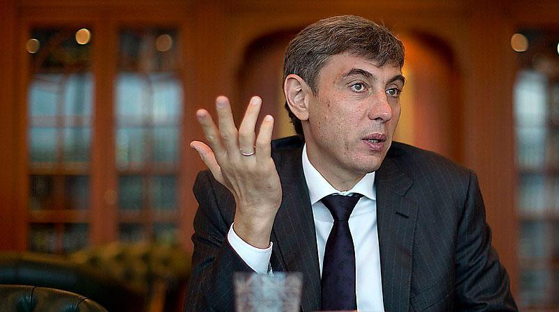 EN AV VÄRLDENS RIKASTE. Sergej Galitskij, 50, är god för  50 miljarder kronor, enligt Forbes.