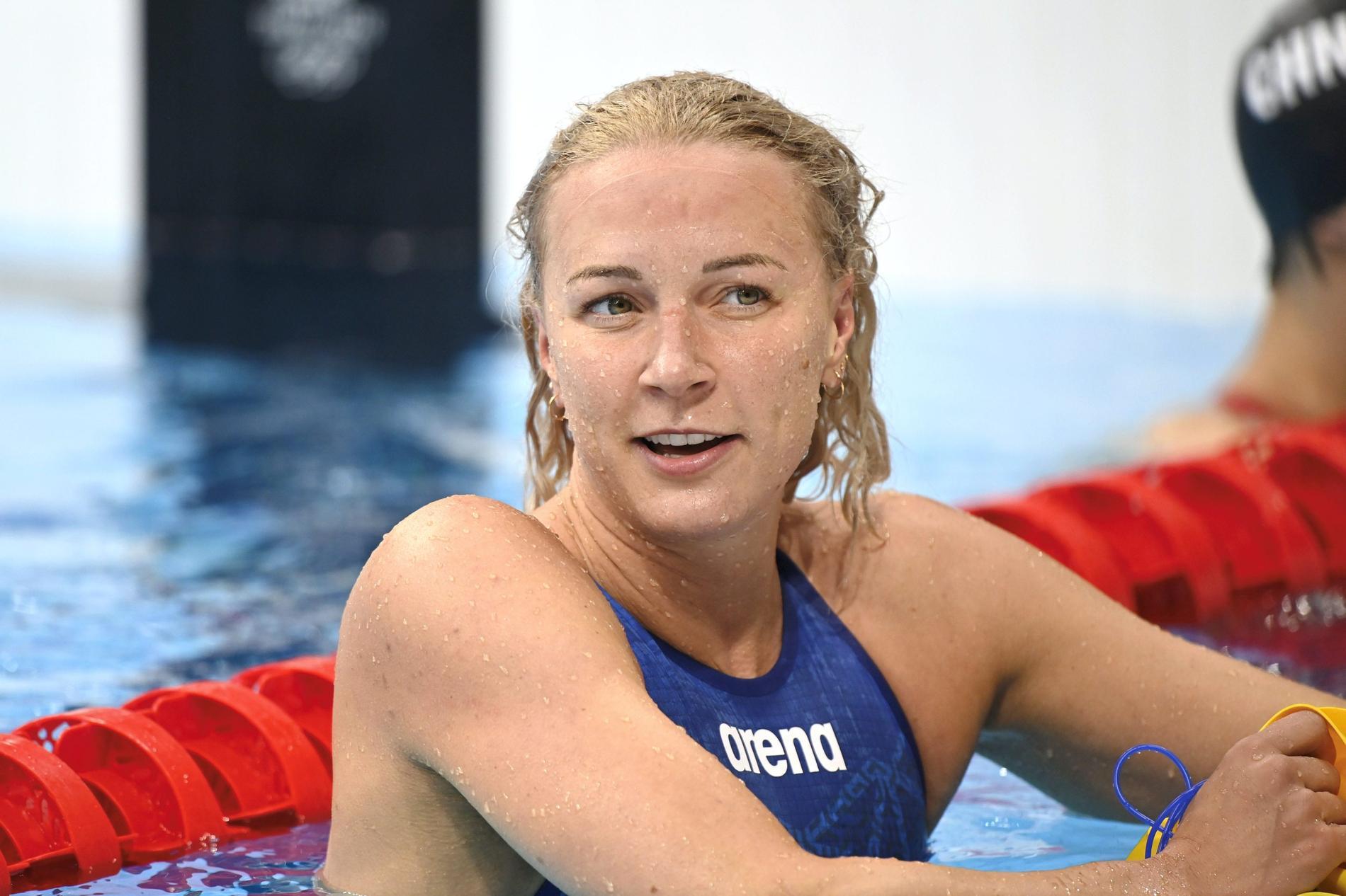 Sarah Sjöström fortsätter att gå starkt i ISL – ny förstaplats på fredagskvällen. Arkivbild.
