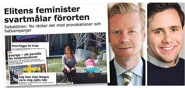 Moderaterna Ole-Jörgen Persson och Benjamin Dousa svarar på kritiken från Ulla Dine Malmsten.