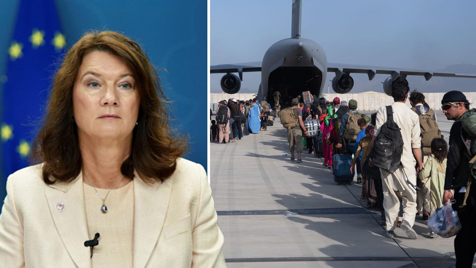 Försvaret redo att evakuera om regeringen ger uppdrag