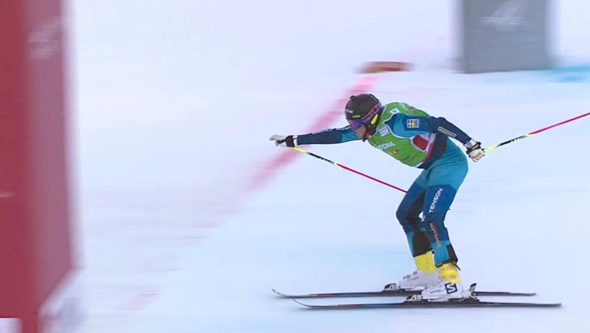 Victor Öhling-Norberg var nära att åka ut på vägen – men dominerade när det väl gällde.