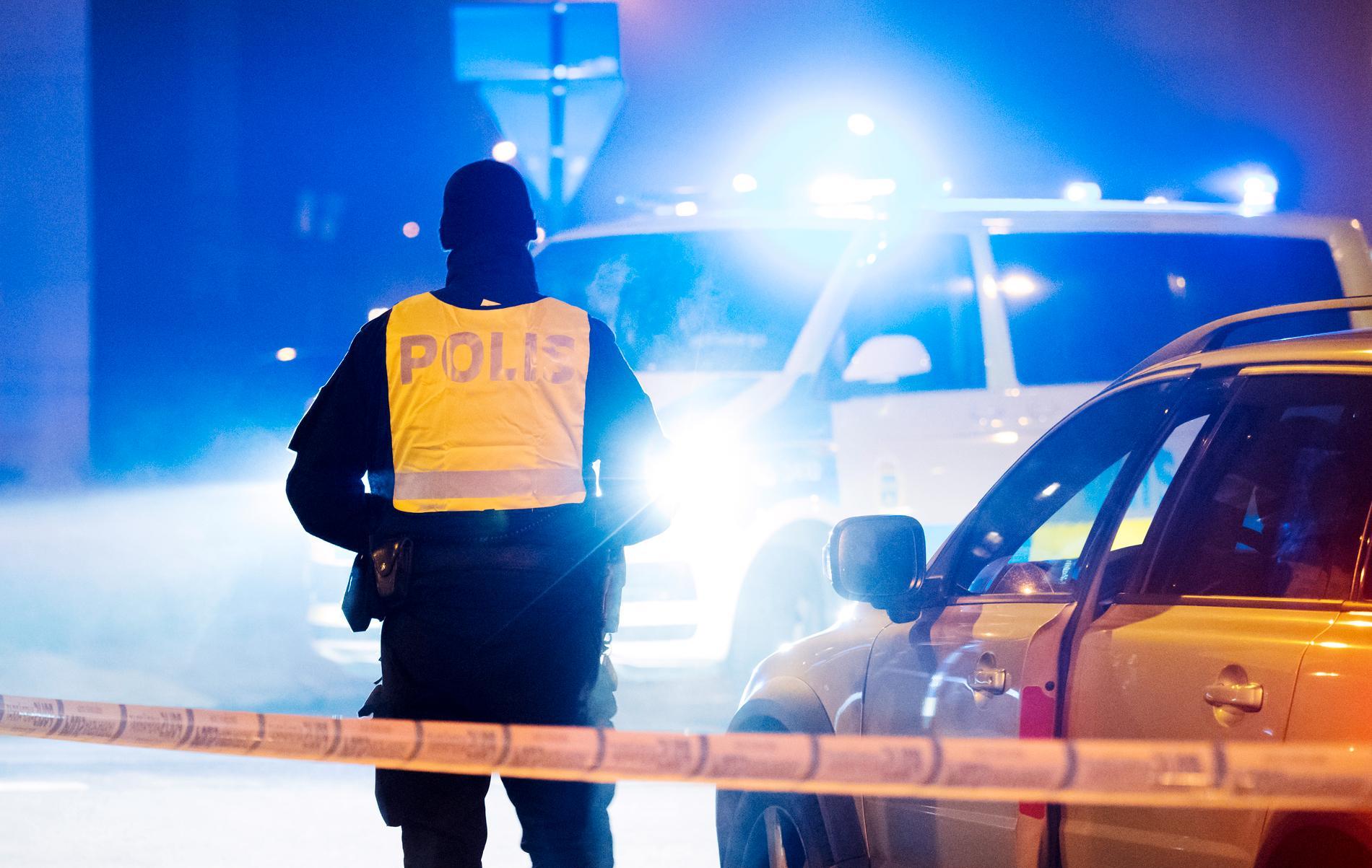 Dödsskjutningar bland unga män i Sverige ökar och ligger nu i topp mot jämförbara europeiska länder, visar en ny studie. Arkivbild.