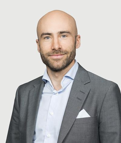 Linus Fugl, säkerhetexpert på Danske Bank.