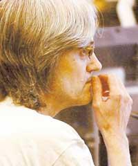 Ulf Olsson berättade om sin transsexualism när han förhördes i hovrätten om morden på Helén Nilsson och Jannica Ekblad.