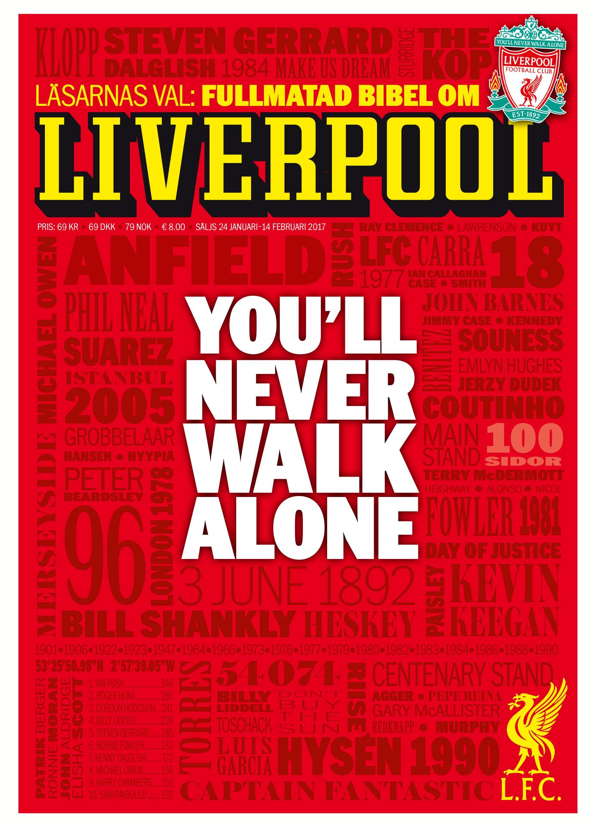 Förstasidan till Liverpool-bibeln.