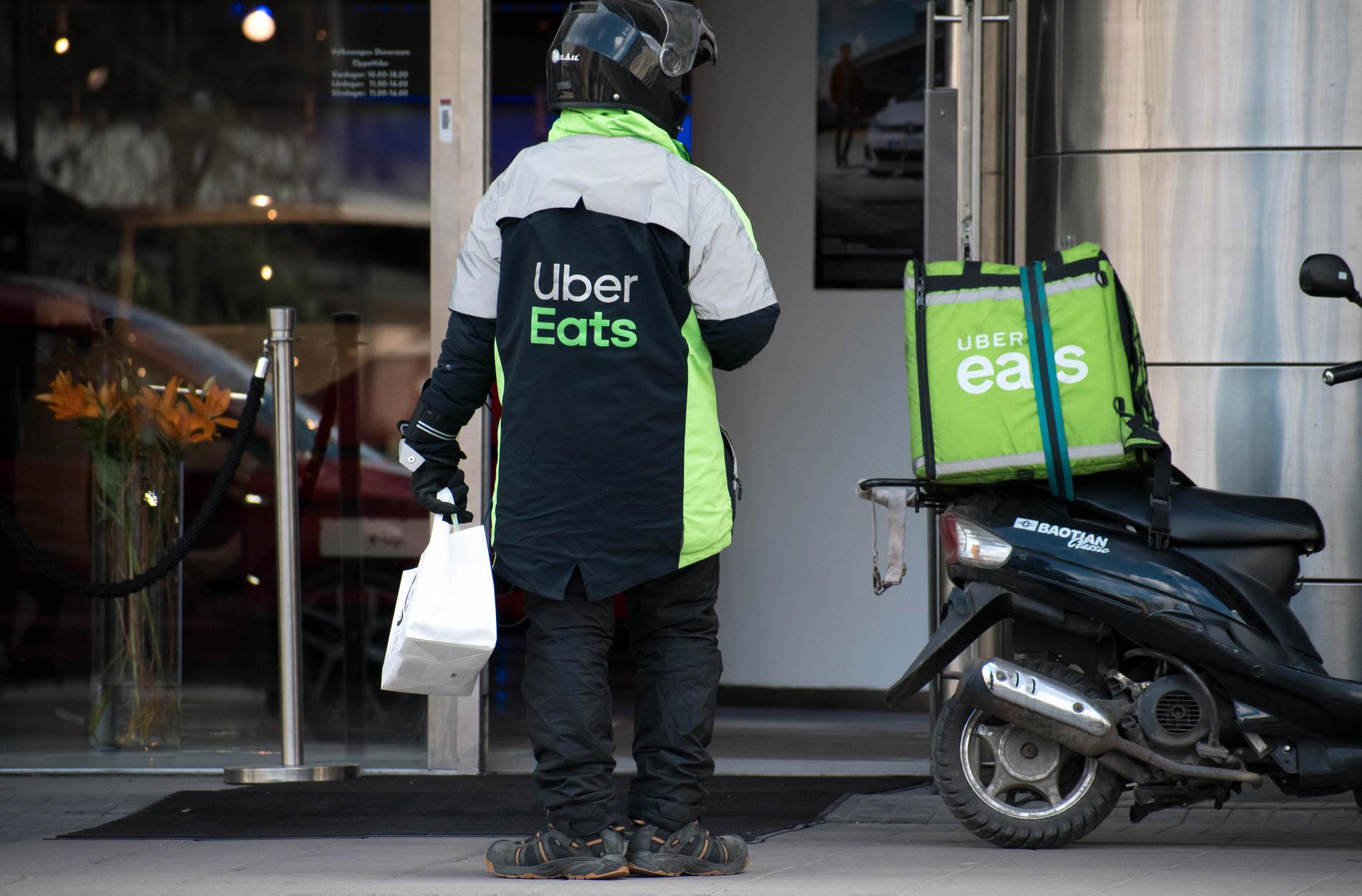 Moderbolag till Uber Eats är taxiföretaget Uber.