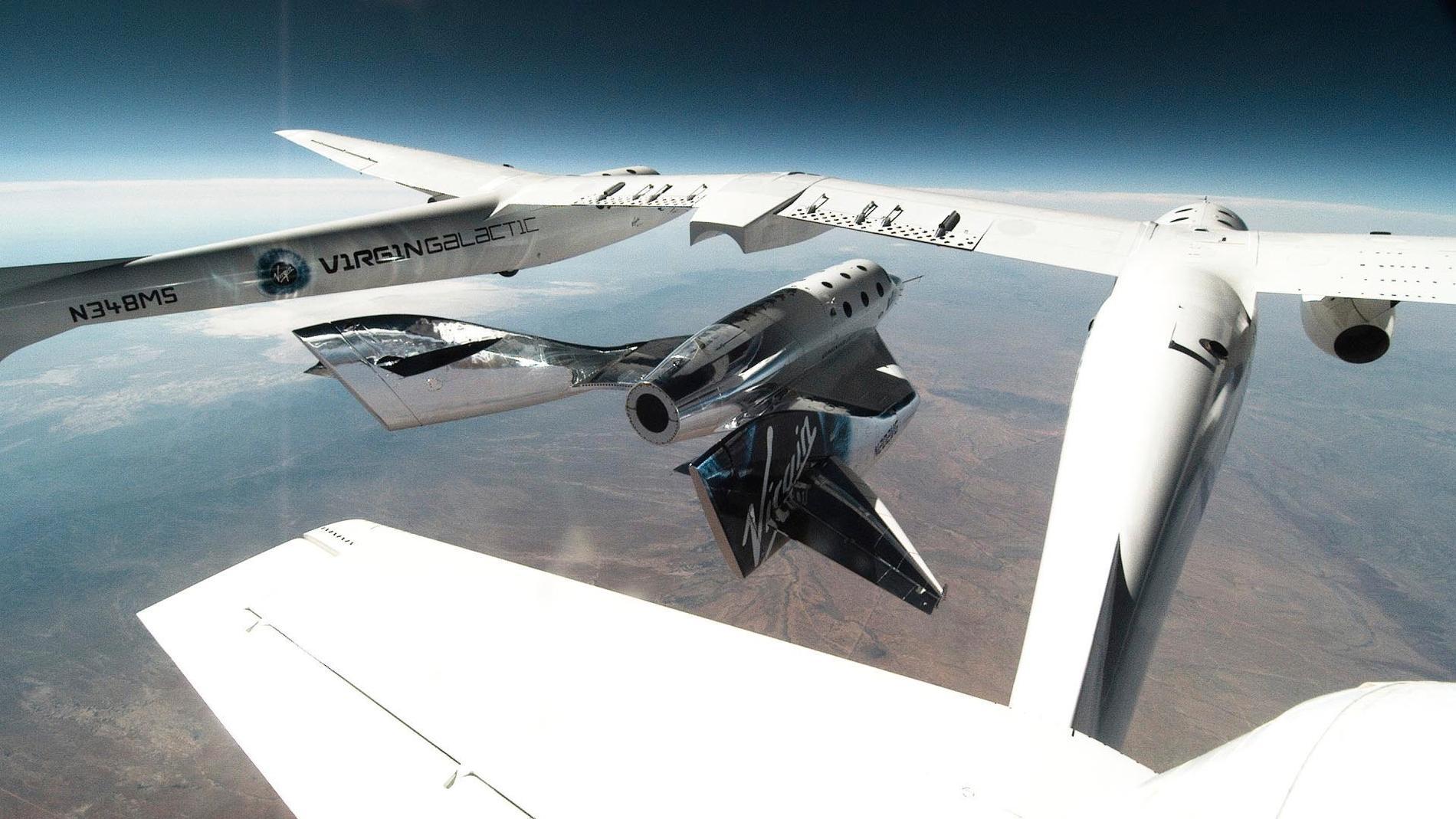 SpaceShipTwo.
