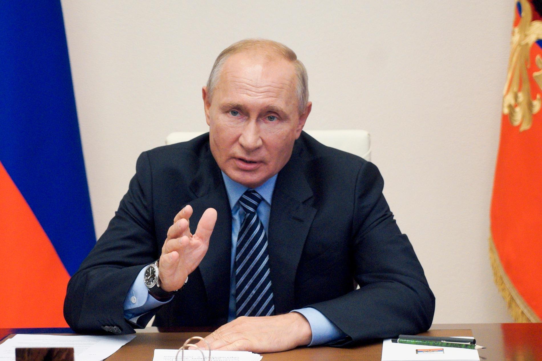 Ryssland under Putin gör helt enkelt som man vill.