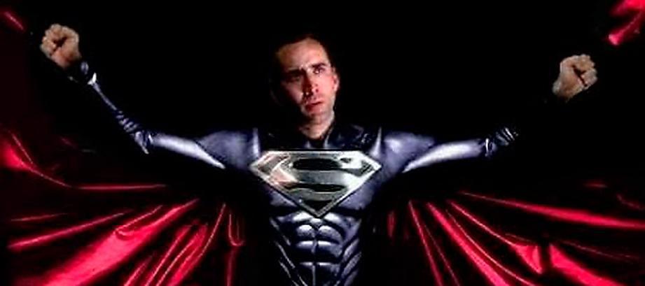 """Nicholas Cage skulle ha spelat huvudrollen i """"Superman lives"""". Nu finns dokumentären """"The death of 'Superman lives': What happened?"""" som handlar om det havererade filmprojektet."""