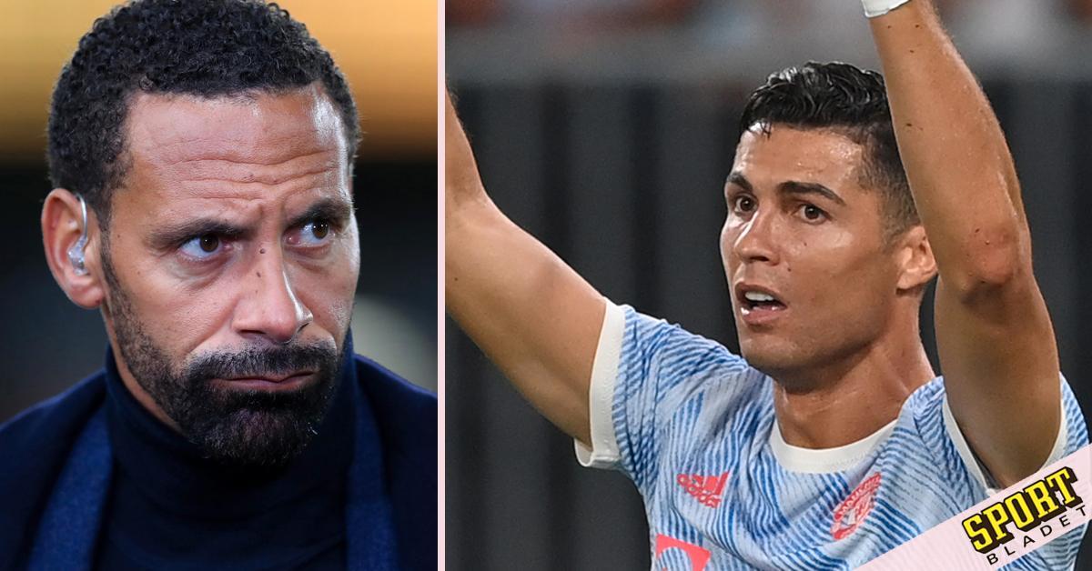 """Ferdinand om Ronaldos agerande: """"Sitt ned"""""""