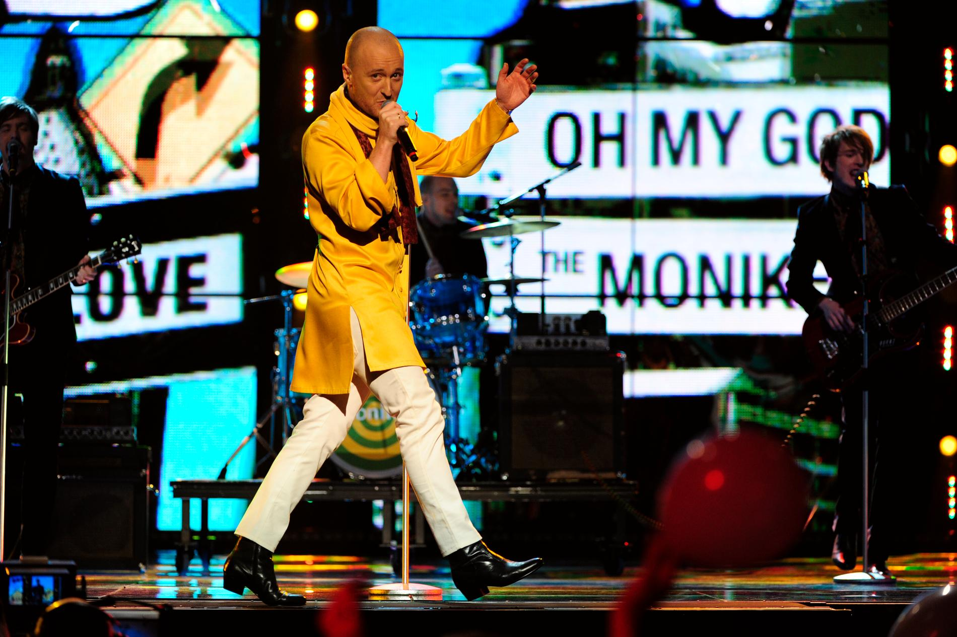 "Daniel ""The Moniker"" Karlsson gjorde succé med ""Oh my god!"" i Mello 2011."