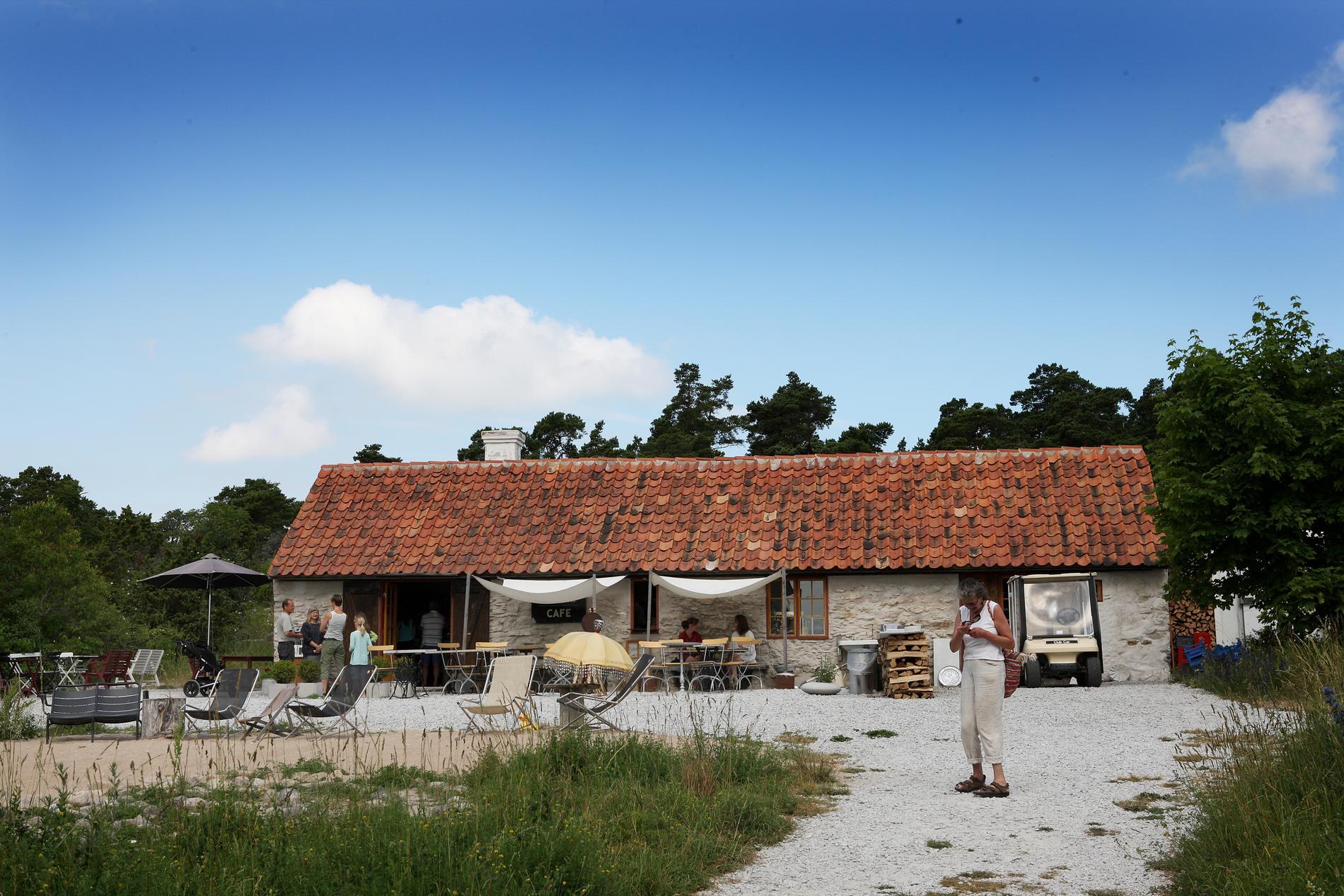 Rute stenugnsbageri på norra Gotland.