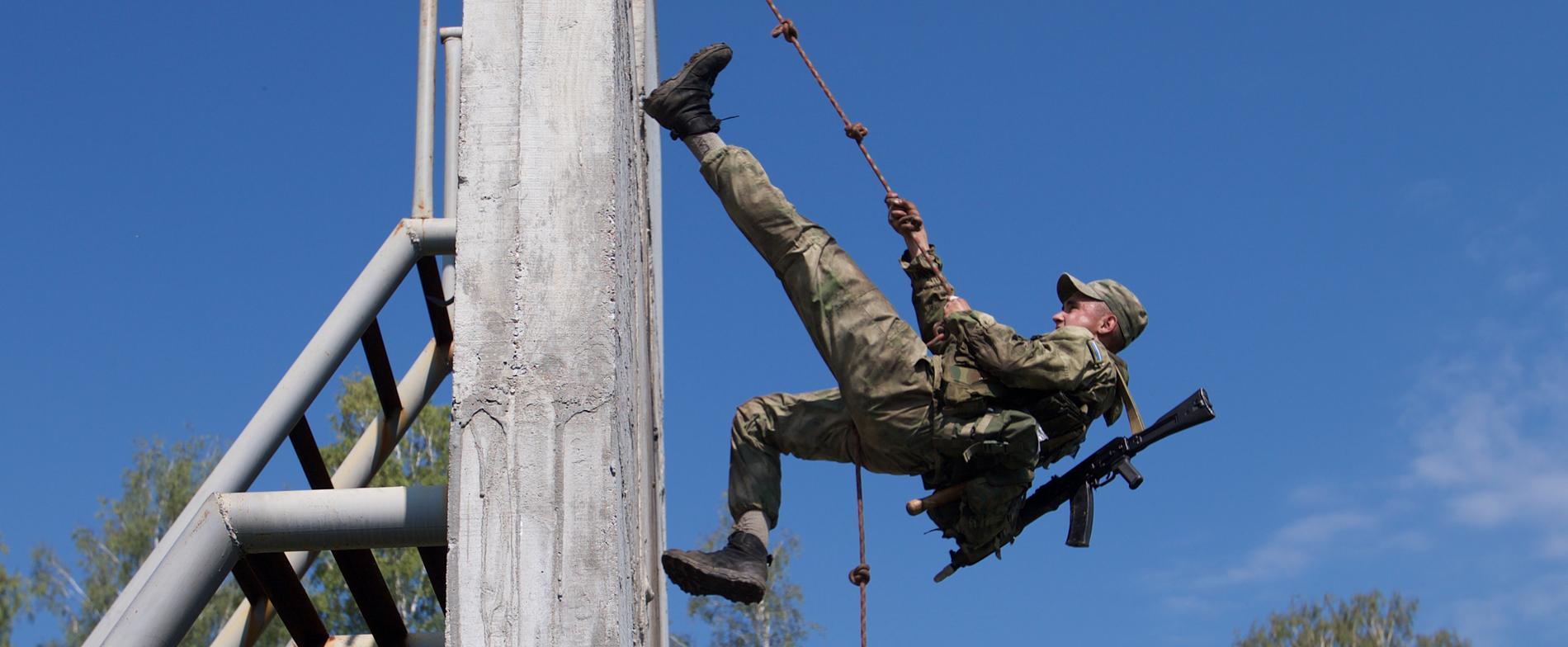 Arkivbild. En annan rysk soldat.