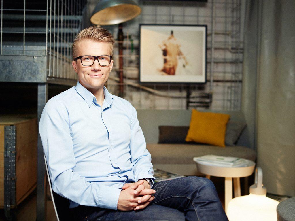 Jonas Lejon, cybersäkerhetsspecialist.