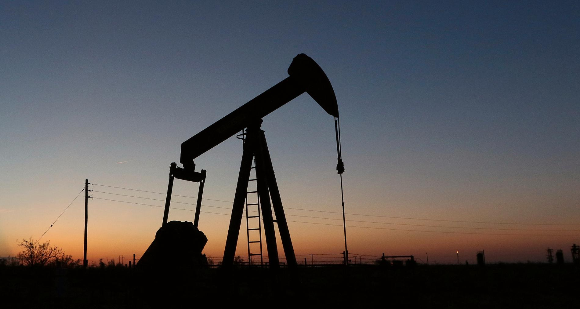 Oljepump i Texas