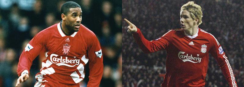 Ikoner John Barnes är en av Liverpools största genom tiderna. Fernando Torres kan mycket väl bli det, enligt The Times.