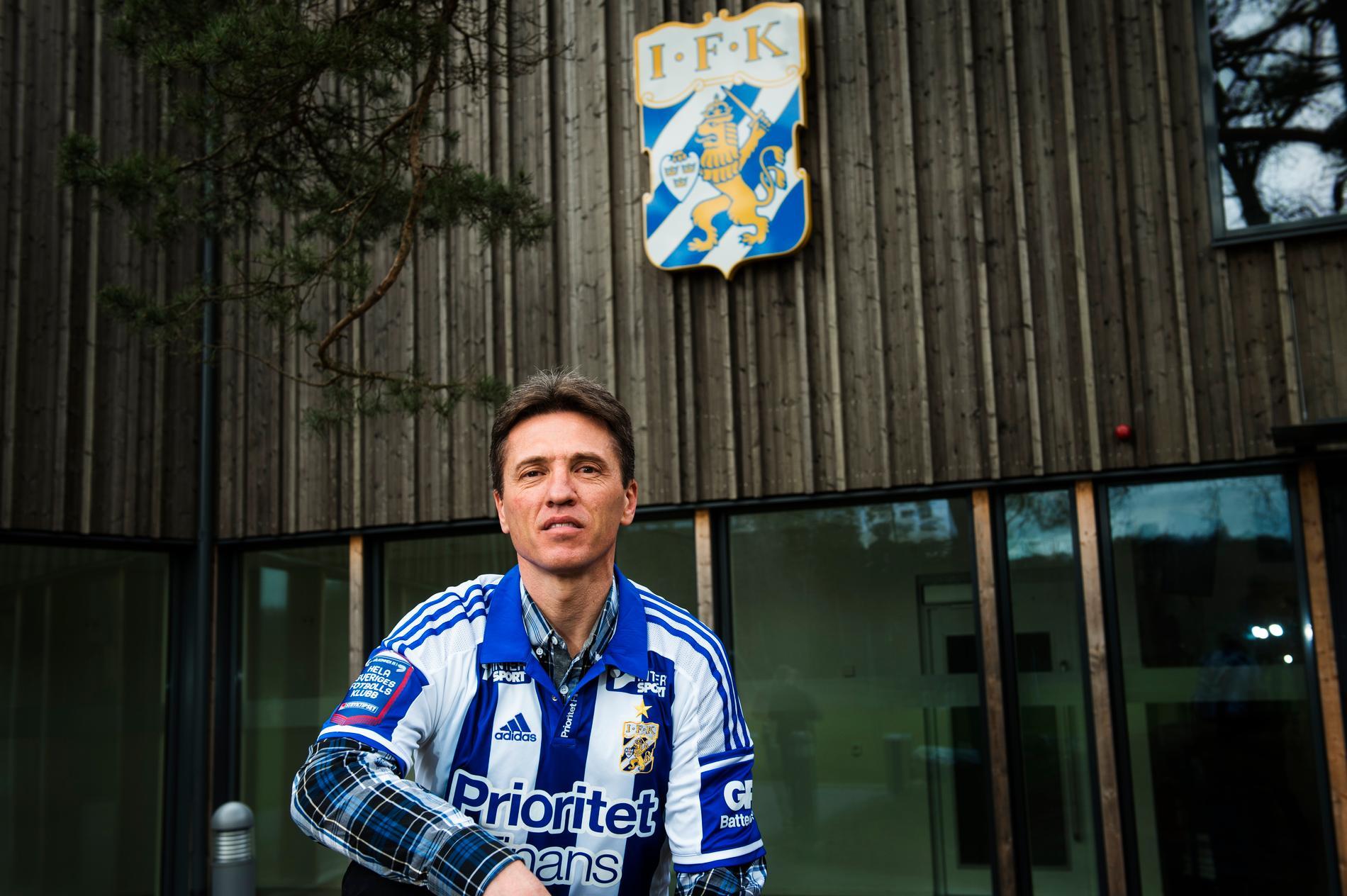 Tidigare i år presenterades Mats Gren som IFK Göteborgs nye sportchef.
