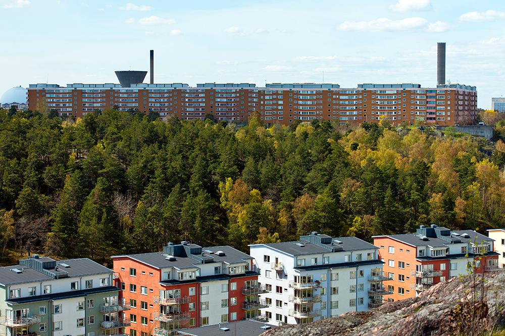 Nacka utanför Stockholm.