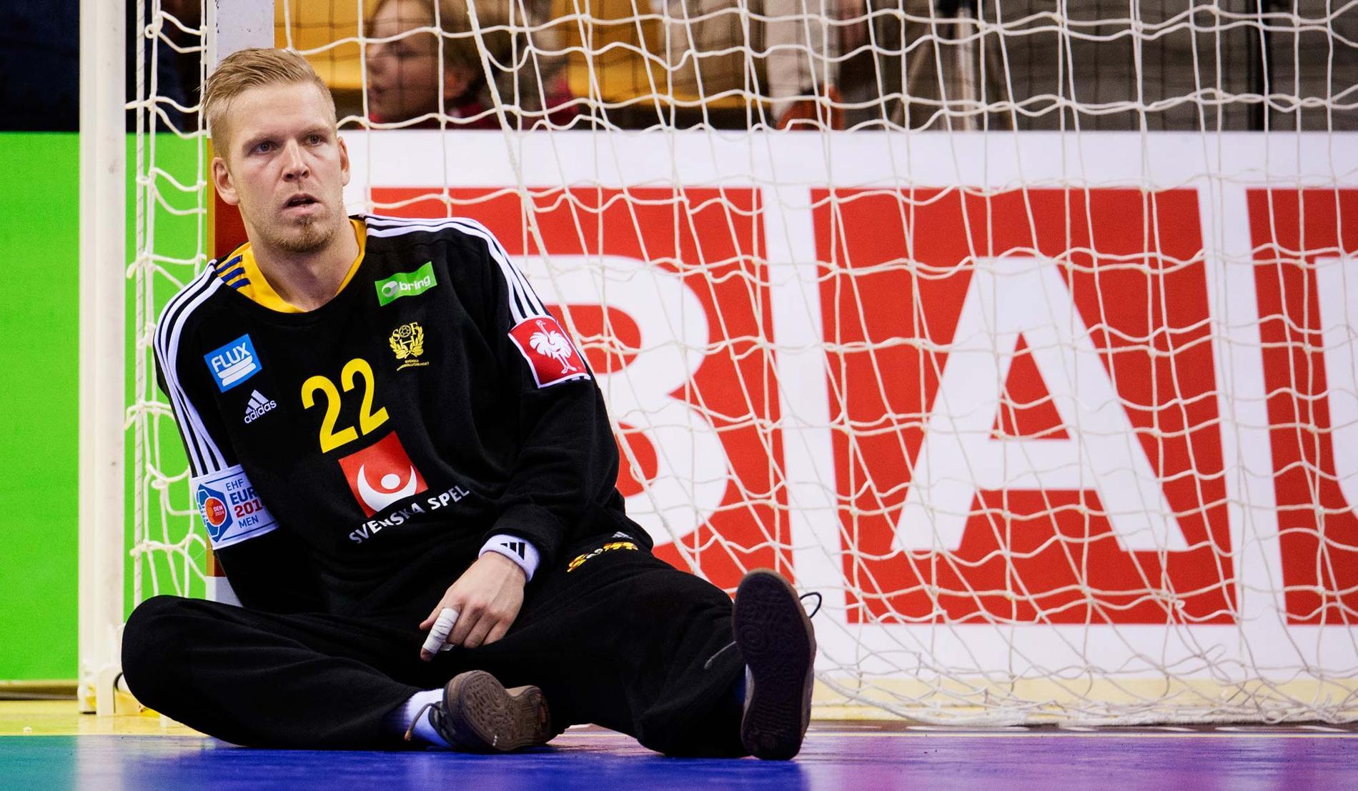 Landslagsstjärnan Johan Sjöstrand.