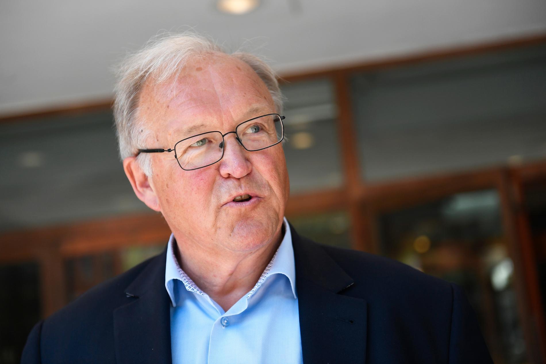 """""""Förvånad blev jag naturligtvis"""", säger Göran Persson om beskedet."""