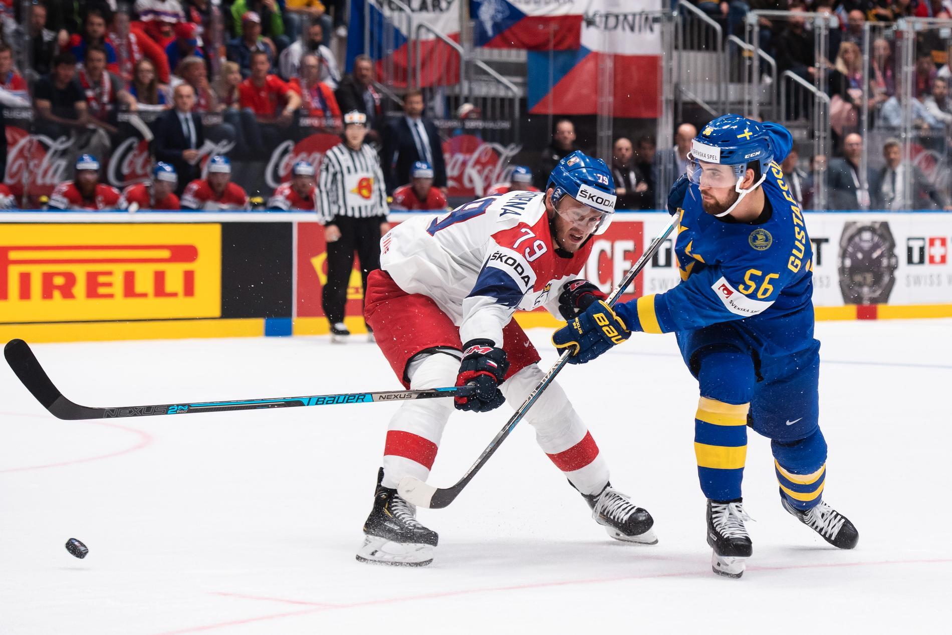 Tre kronor öppningsmatch är mot Tjeckien.