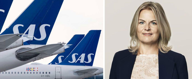Freja Annamatz är presschef på SAS Sverige