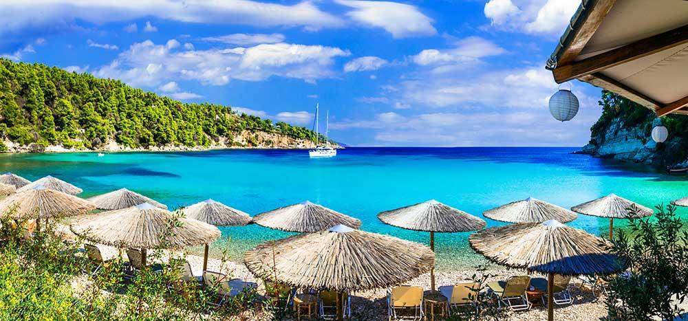 Alonissos är en av Greklands grönaste öar.