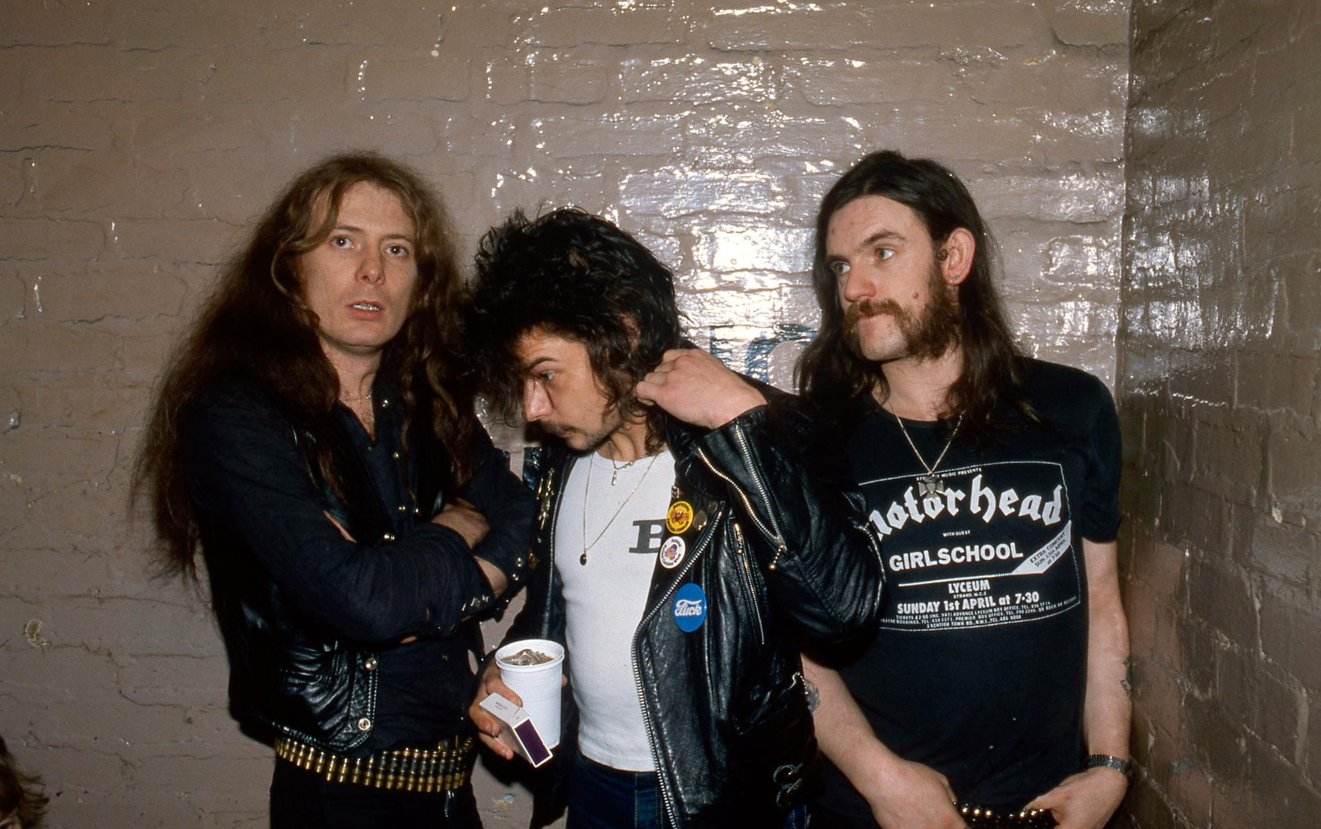 Eddie Clarke, Phil Taylor, Lemmy Kilmister - Motörhead 1980