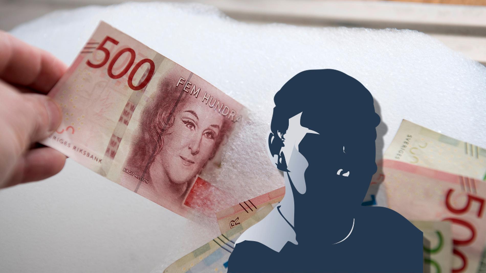 En man i 23-årsåldern misstänks ha tvättat pengar för flera miljoner.