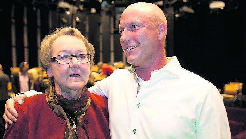Marit Paulsen återförenades med fostersonen Ulf Haring som hon inte haft kontakt med på 15 år.
