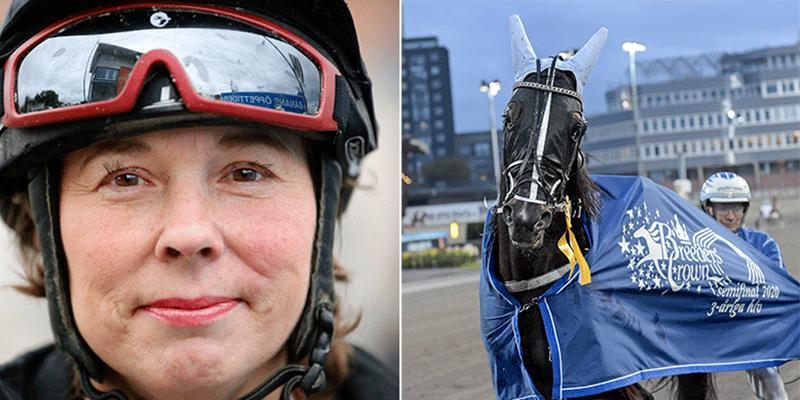 59-åriga dalatränaren Susanne Richter har hästar till start på både V86 och V75 under veckan.