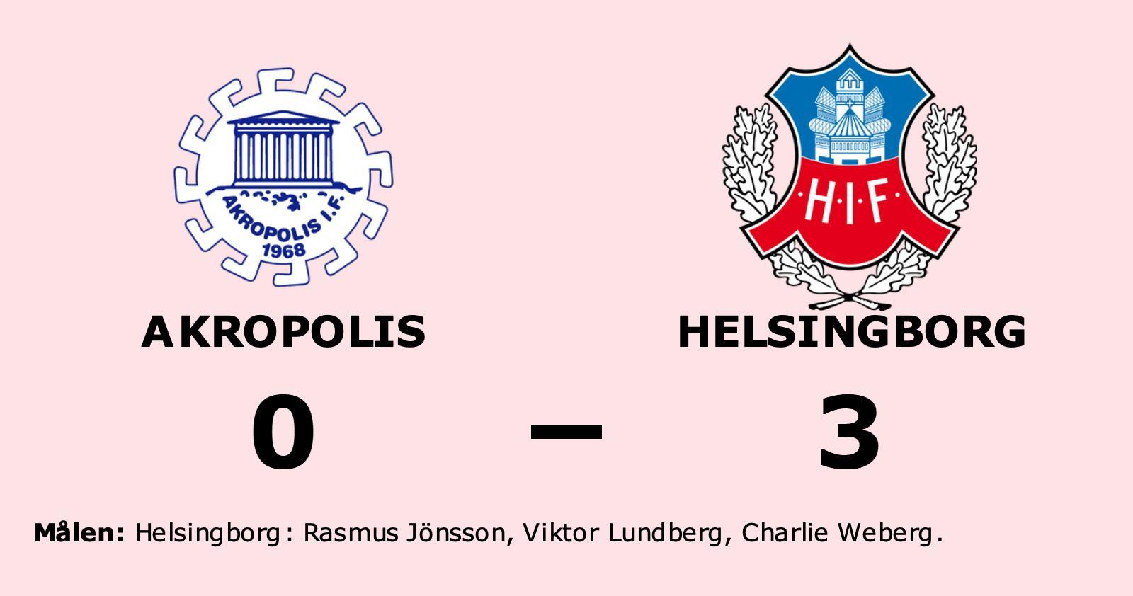 Helsingborg ny serieledare i Superettan efter seger