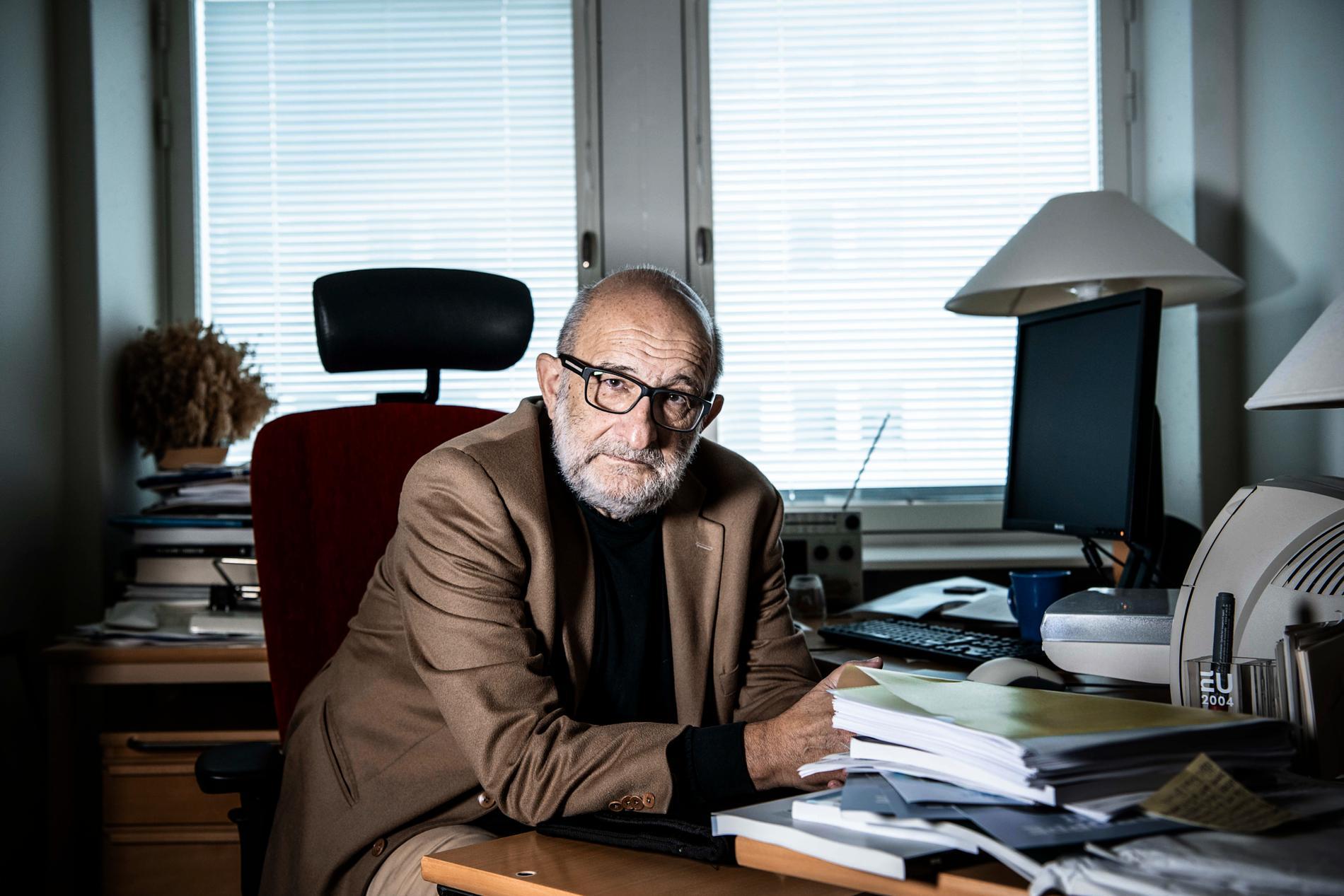 Jerzy Sarnecki, professor i kriminologi. Arkivbild.