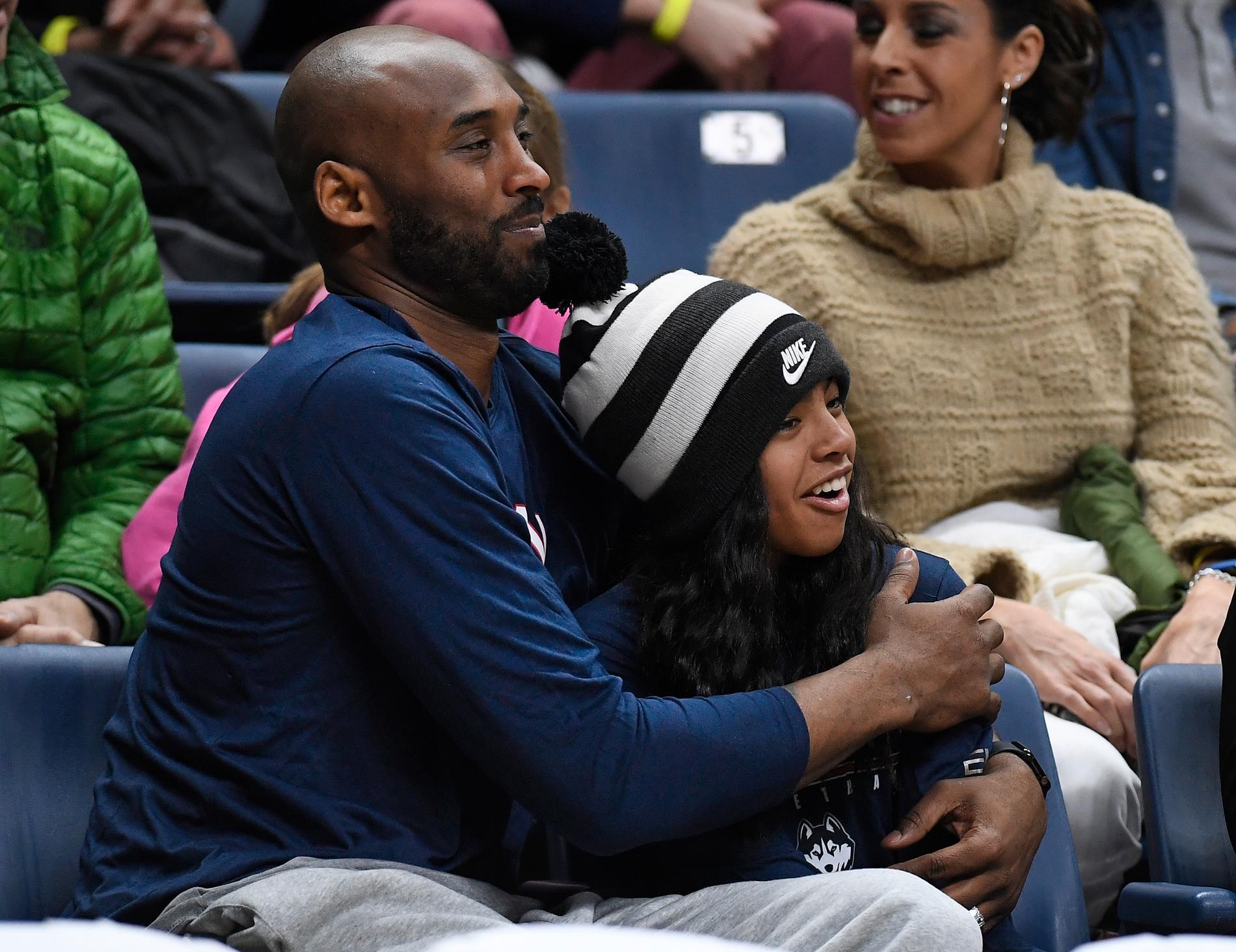 Kobe Bryant och dottern Gianna