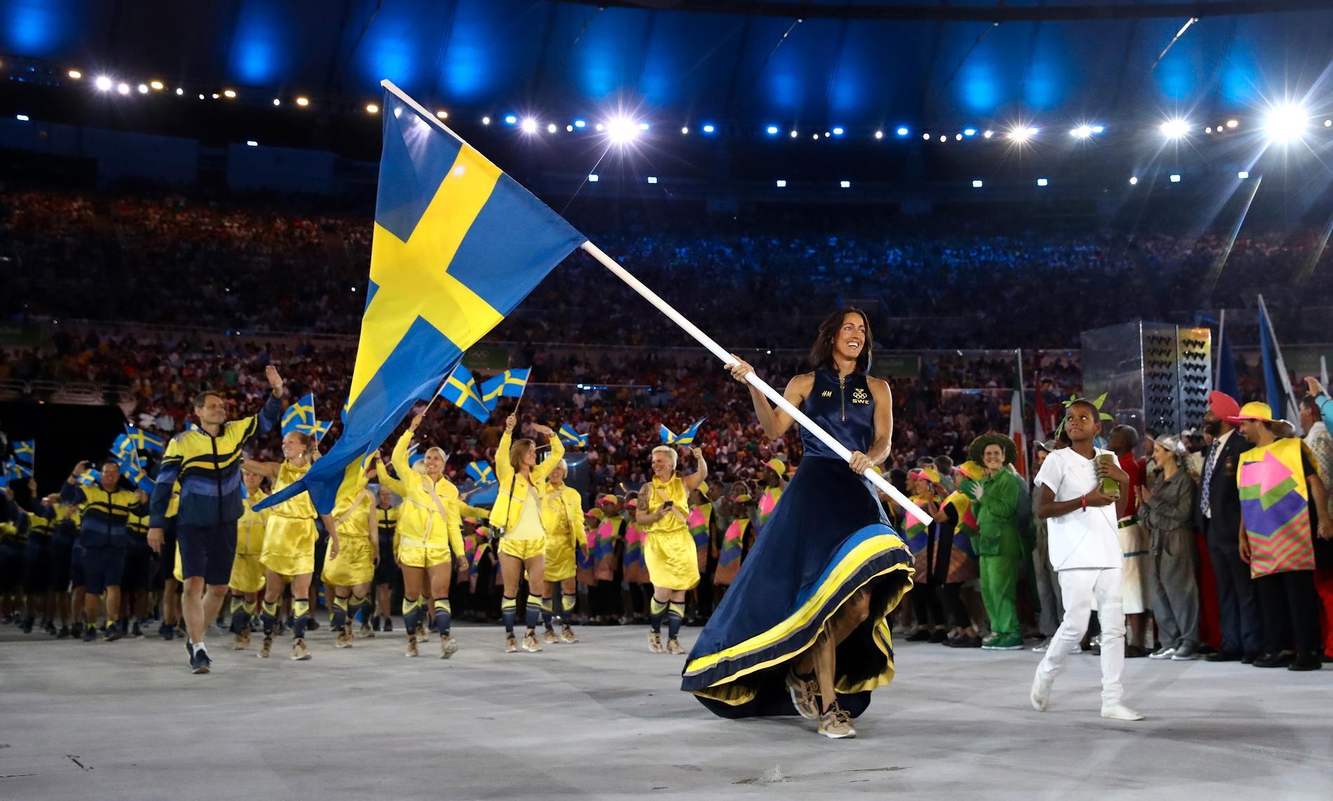 2016 var Therese Alshammar fanbärare för Sverige i Rio.