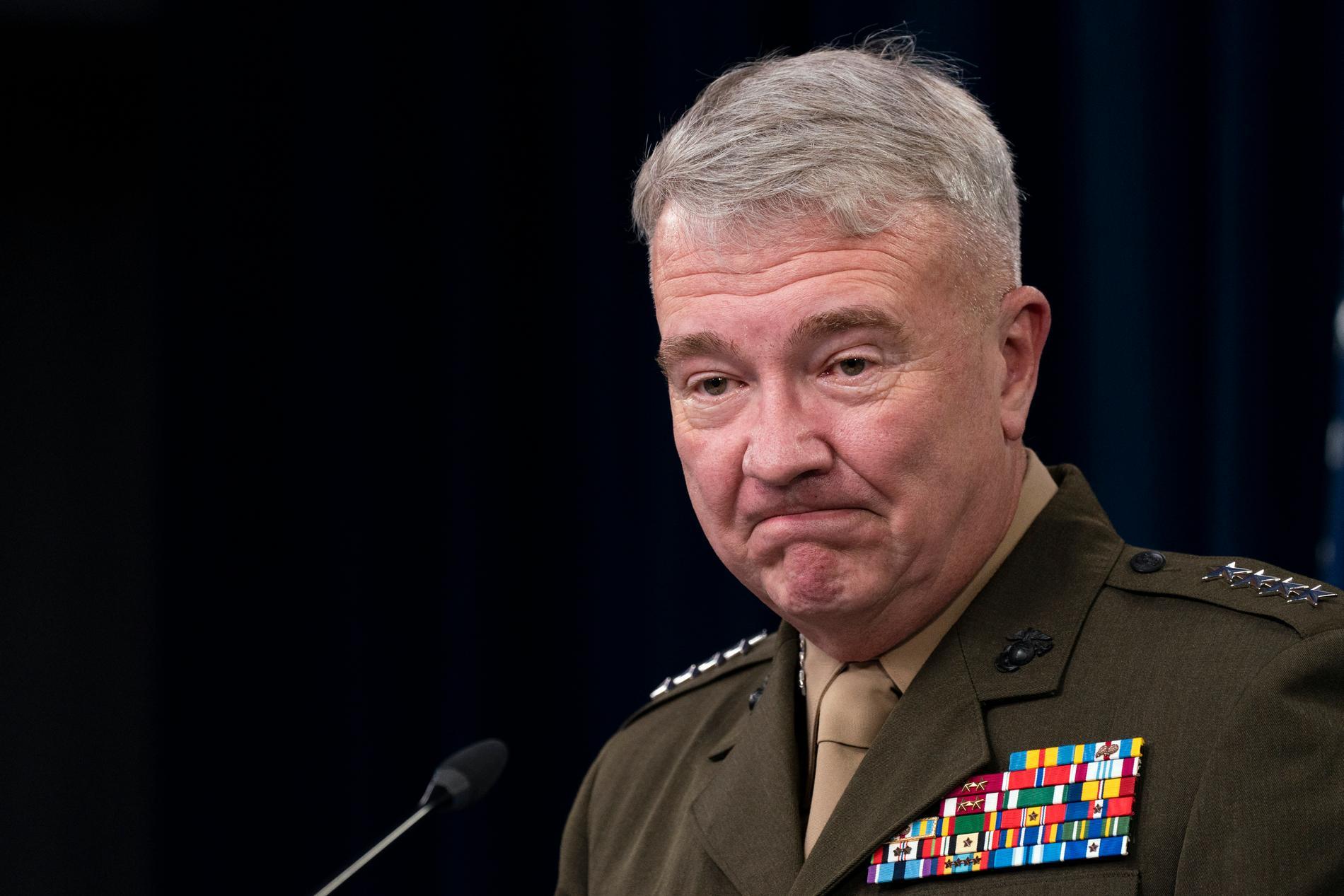 Kenneth McKenzie, amerikansk general. Arkivbild.