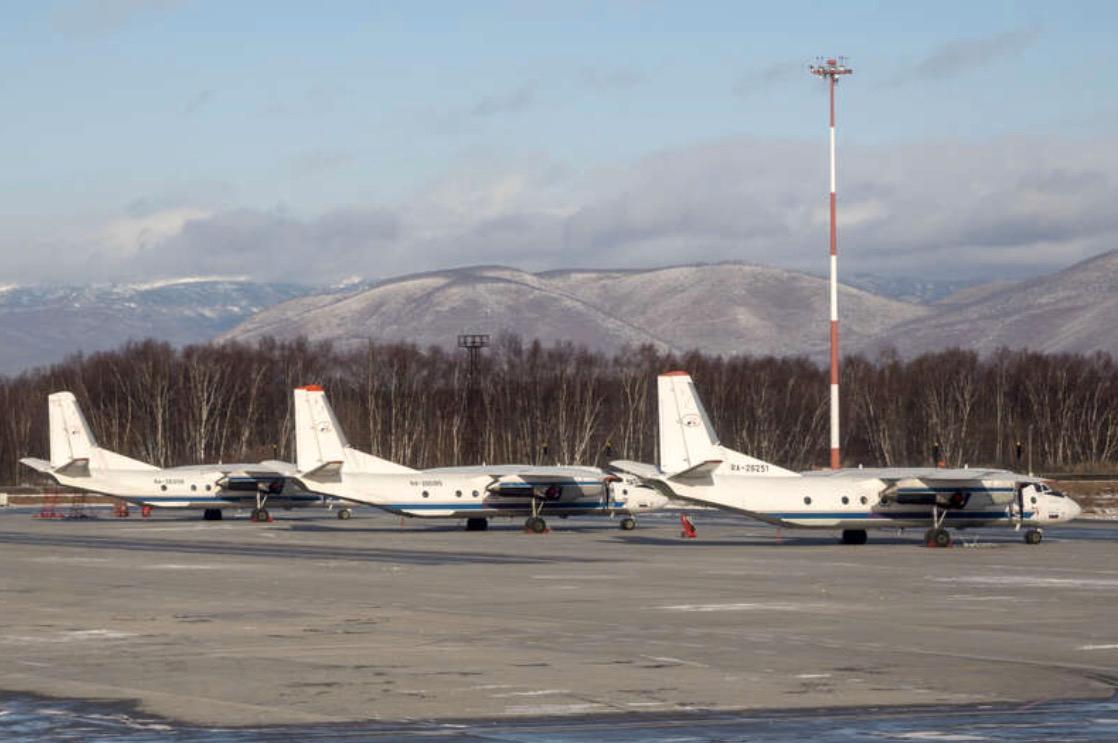 Olycksplanet var av typen Antonov An-26.