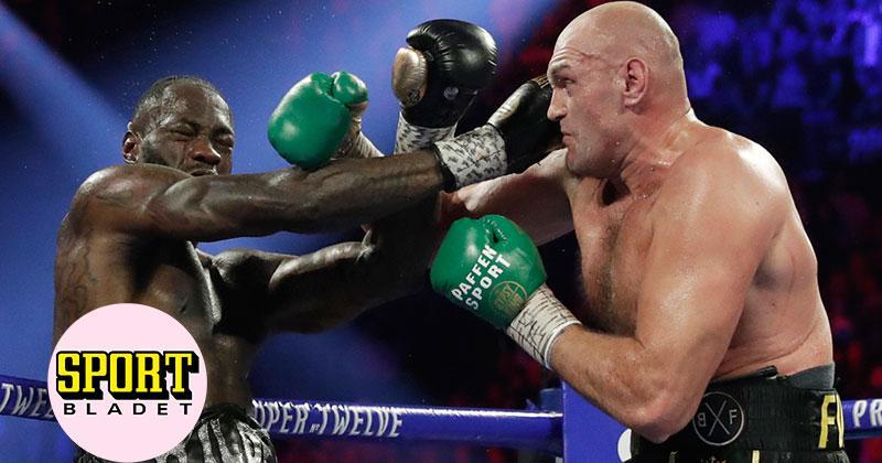 Viaplay sänder tredje mötet mellan Tyson Fury och Deontay Wilder