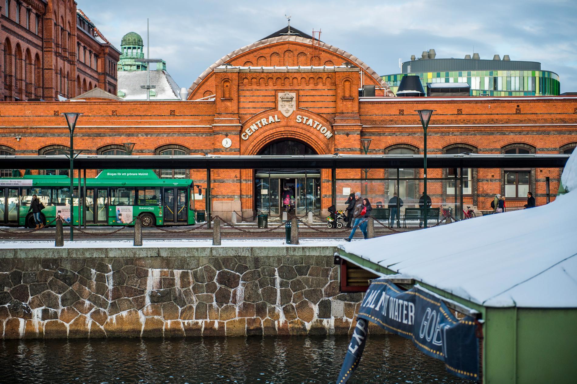 Centralstationen i Malmö. Arkivbild.