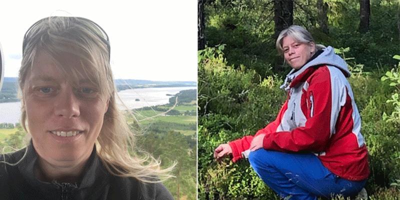 44-åriga amatörtränaren Merete Larsen tror mycket på sin häst på V75.