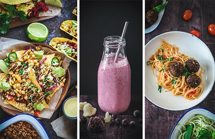 Här är tre matklassiker som kan få barnen att gilla mer vegetariskt. Vego-tacos, smarta smoothies och pasta med tomatsås och smakrika bönbollar