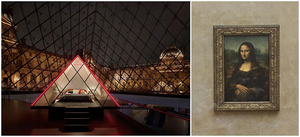 Nu kan du vinna en natt med Mona Lisa på Louvren.