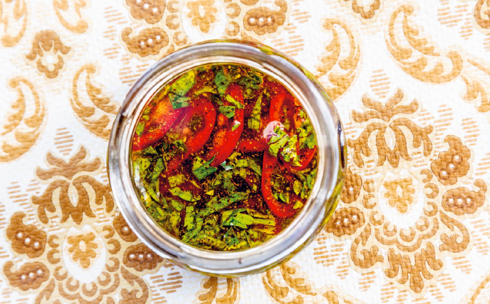Chilidressing – het och god