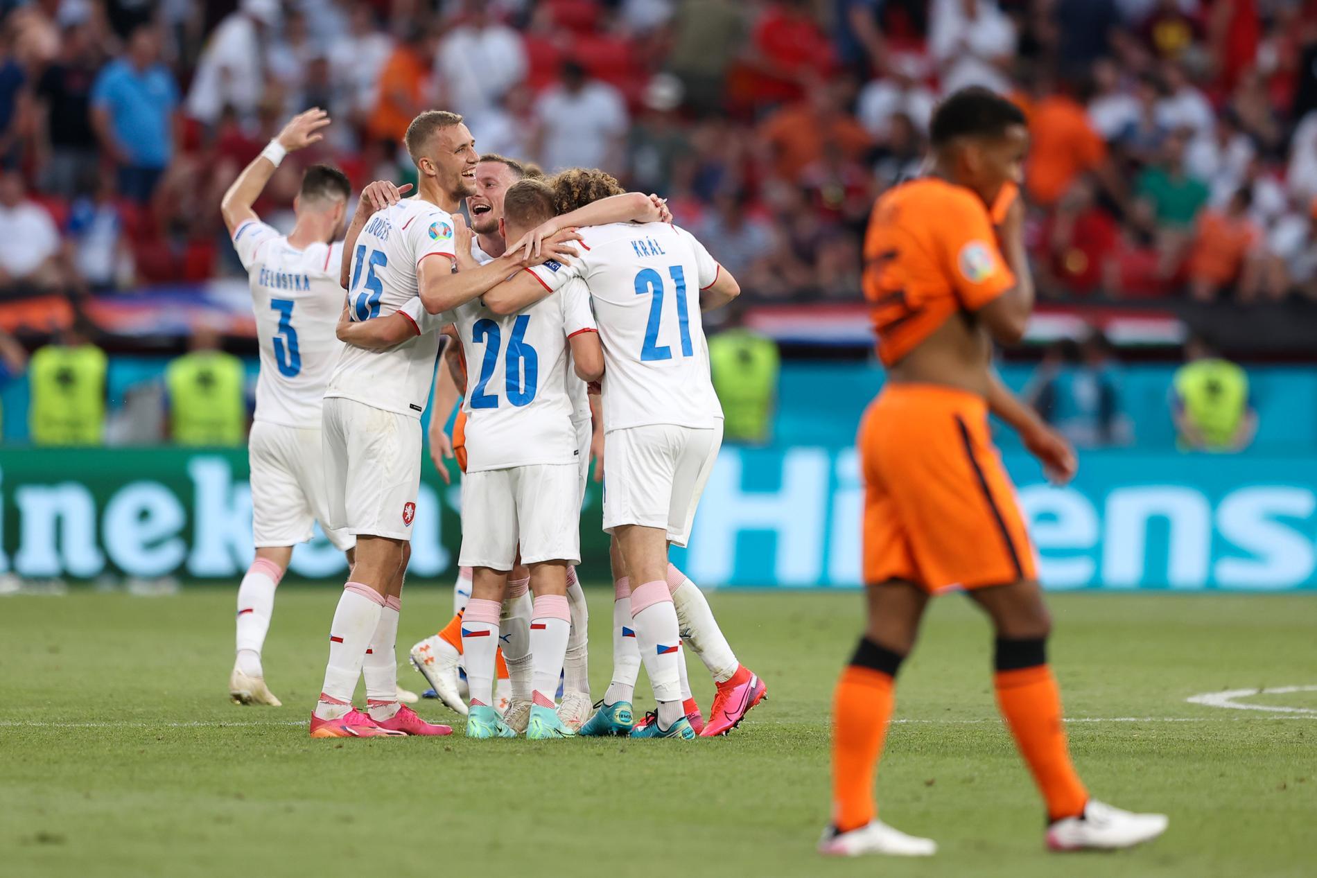 Tjeckien har slagit ut Nederländerna.